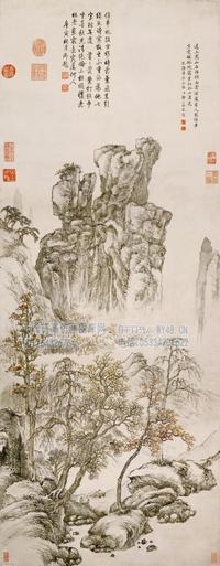 佚名-山水图
