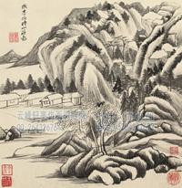 佚名-仿古山水图册