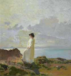Sir_William_Orpen_-_In_the_cliffs,_Dublin_bay,_in_the_morning