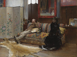 Sulking_-_Gustave_Courtois_in_his_Studio_by_Pascal-Adolphe-Jean_Dagnan-Bouveret