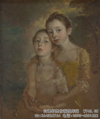 Thomas-Gainsborough---The-Painter's-Daughters-with-a-Cat