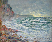 克劳德・莫奈Claude-Monet---Fecamp,-by-the-Sea-(1881)