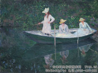 克劳德・莫奈Claude-Monet---In-the-_Norvégienne_-(1887)