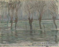 克劳德・莫奈Claude-Monet---Flood-Waters-(1896)