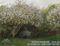 克劳德・莫奈Claude-Monet---Lilacs,-Grey-Weather-(1872)