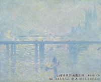 克劳德・莫奈Claude-Monet---Charing-Cross-Bridge-(1899)