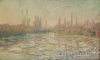 克劳德・莫奈Claude-Monet---Floating-Ice-(1880)
