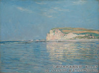 克劳德・莫奈Claude-Monet---Low-Tide-at-Pourville-(1882)