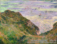 克劳德・莫奈Claude-Monet---Low-Tide-at-Varengeville-(1882)