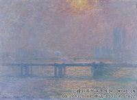 克劳德・莫奈Claude-Monet---Charing-Cross-Bridge,-The-Thames-(1903)