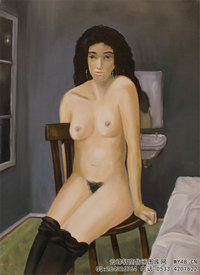 Seated_Nude_by_Reginald_Gray